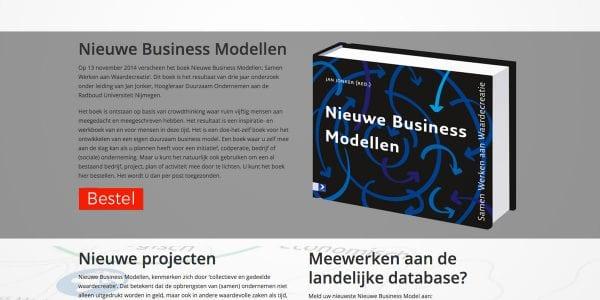 Website | NieuweBusinessModellen.nl